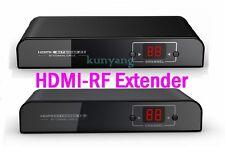 HDMI to RF Coaxial H.264 Extender Converter 1080P Fr DVD PS3 SDTV HDTV Projector