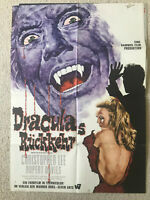 Christopher Lee, Draculas Rückkehr  - Original Filmplakat A1