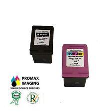 Remanufactured HP 301 Black and HP 301 Tri-Colour Ink Cartridge