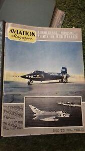 Aviation Magazines 1957 to 59 French Vintage.