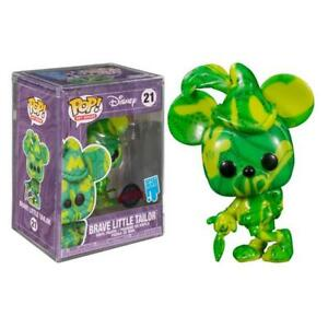 Funko Art Series Mickey Brave Little Tailor Special Edition Green Figure