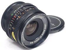 Konica Hexanon Ar 28mm 3.5 + Estuche === como nuevo ===