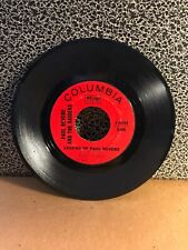 "PAUL REVERE & THE RAIDERS 45RPM 7"" Single Columbia Records ""Legend of..."" (J74)"