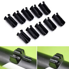 10X Bike Disc Brake Cable Sets Pipe Line Deduction transmission Pipe C Buckle WO