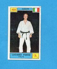 CAMPIONI SPORT 1969-70-PANINI-Figurina n.423- PARISI -ITALIA-KARATE'-Rec