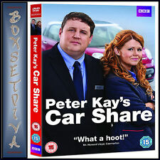 PETER KAYS CAR SHARE - COMPLETE BBC SERIES 1  *BRAND NEW DVD***