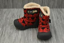 **Bogs Kids B Moc Mountain Snow Boots, Toddler Boy's Size 6 - Red/Gray NEW
