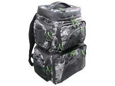 Walmeck Fishing Tackle Backpack Bag with 4 Fishing Tackle Boxes Water-resistant Fly Fishing Pack Outdoor Sports Camping Hiking Backpack