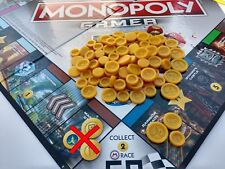 Monopoly Gamer Mario Kart Board Game Coins | 105 Coins Total | 3D Printed