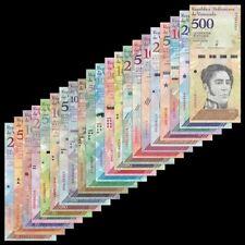 Mazuma *F856 Venezuela 2013-18 2 - 20,000 Bolivares Total 21Pc (Random) Set UNC