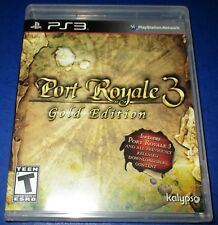 Port Royale 3 -- Gold Edition PlayStation 3 *New! *Sealed! *Free Shipping!