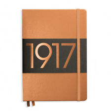 LEUCHTTURM1917 Metallic Edition Notebook Medium A5 Ruled Pages Copper Cover