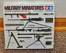 TAMIYA 1/35 Military Miniatures U.S Infantry Weapons Set No.35121-Sealed Box-New