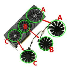 Cooler Graphics Fan For ASUS RX VEGA 64/56 RX480 RX580 GTX 1080/1060/1070/980Ti