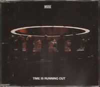 FRENCH CD SINGLE MUSE TIME IS RUNNING OUT JEWEL CASE COLLECTOR COMME NEUF RARE