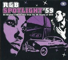R&B Spotlight '59 2-CD NEW SEALED Chuck Berry/Fats Domino/Bo Diddley/Lloyd Price