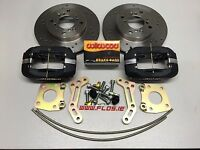 AE86 Wilwood Big Brake Kit 4 pot front Toyota Levin Corolla Discs Pads Calipers