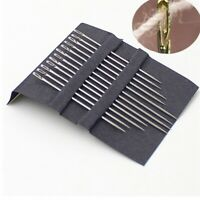 12Pcs Home Assorted Hand Sewing Needles Self Threading Tools Craft Quilting Kit