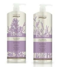 Natural Look Expand Volumising Shampoo & Conditioner 1L Duo with Pumps