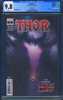 Thor 4 (Marvel) CGC 9.8 White Pages Donny Cates story Second Print