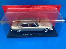 1/24 Collection Passion Citroën N°5 SM Opéra de Chapron 4 porte voiture Hachette