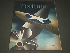 1942 AUGUST FORTUNE MAGAZINE - GREAT COVER & ADS - F 141