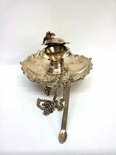 Antique Sterling Silver Bird Fountain