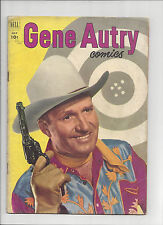 GENE AUTRY COMICS #65 Dell Comics 1952 Golden Age Western 10 cent cover VG