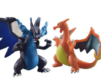 2pcs Pokemon Mega Evolution X /Y Charizard Figure Toy