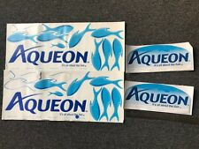 New listing Aqueon Aquarium Stickers (Lot of Stickers) Larger size of stickers
