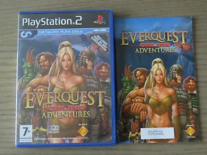 JEU PLAYSTATION 2 PS2  EVERQUEST ONLINE ADVENTURES  COMPLET EN FRANCAIS