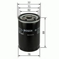 NEW ENGINE OIL FILTER OE QUALITY REPLACEMENT BOSCH 0986452044