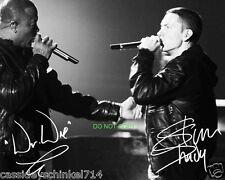 "Eminem and Dr Dre Reprint Signed 8x10"" Photo RP 8 Mile"