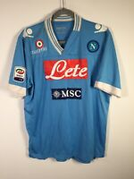 Napoli Jersey 2012 2013 Home Kit Football Mazzella #24 Mens size L Macron