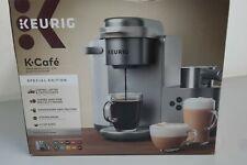 Keurig K Cafe Special Edition Coffee Maker Latte Single Serve Cup Pod Nickel 31B
