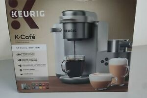Keurig K Cafe Special Edition Coffee Maker Latte Single Serve Cup Pod Nickel 31B