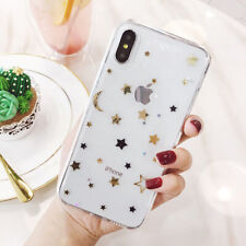 Mobile phone Case For iPhone X XS 8 7 Plus Shockproof Bling Clear Case Cover New