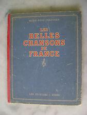Marie-Rose Chauveau - Les belles chansons de France - J. SUSSE 1944