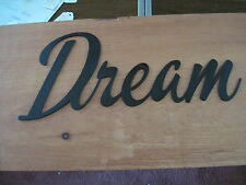 Dream-Black Wrought Iron Wall Art Metal Home Decor Primitive