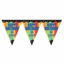 Unbranded Plastic 1-5 m Party Banners, Buntings & Garlands