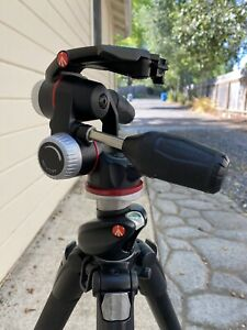 Manfrotto MHXPRO3W X-PRO 3-Way Tripod Head with Retractable Levers