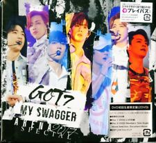 GOT7-ARENA SPECIAL 2017 MY SWAGGER IN...-JAPAN 2 DVD+BOOK Ltd/Ed S93 zd