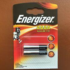 2 x Energizer AAAA 1.5V Batteries MN2500 E96 LR61 - Longest Expiry