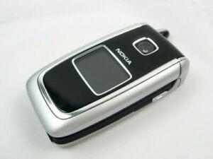 """Original Nokia 6101 FM radio CAMERA 2G GSM Flip Mobile Phone 1.8"""" Screen"""