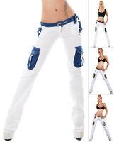 Blue Quest Women's Bootcut Cargo Denim Jeans - S/M/L/XL