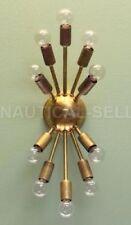 Classic sputnik Antique Patina Brass wall sconce,light fixture