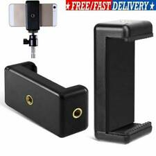 Ajustable Stand Phone Clip Tripod Mount Adapter Holder Bracket for Cell Phone US