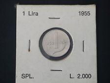 REPUBBLICA MONETE 1 LIRA 1955 SPL