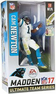 Cam Newton Carolina Panthers NFL Madden 17 Figure EA Sports Series 3 McFarlane