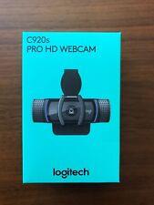 Logitech C920s Pro HD 1080p Webcam w/ Privacy Shutter - In Hand